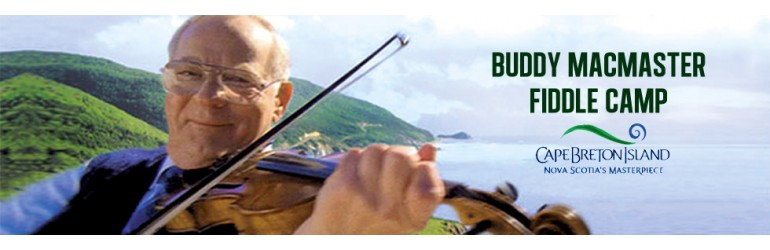 Buddy MacMaster Fiddle Camp