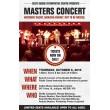 Masters Concert: Oct. 6, 2016